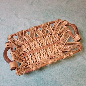 Boho Rectangular Basket